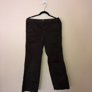Brown GAP Casual Pants Size 6 ankle